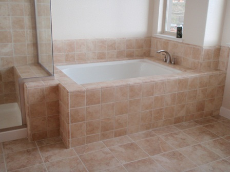 Ceramic tile in bathroom - large and beautiful photos. Photo to ...