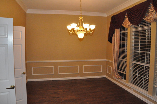 chair rail in dining room photo - 1