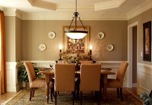 chandeliers dining room photo - 1