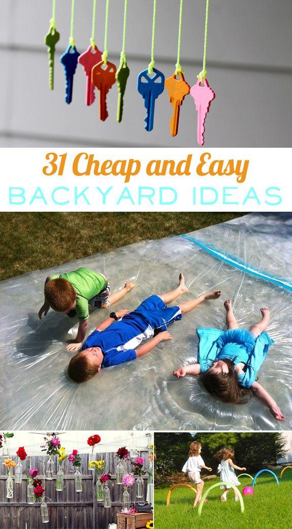 cheap and easy backyard ideas photo - 2