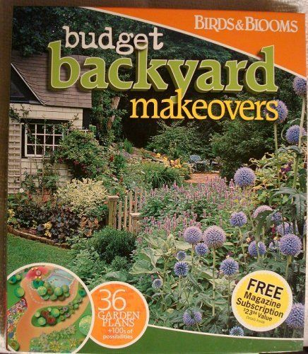 cheap backyard makeover photo - 2