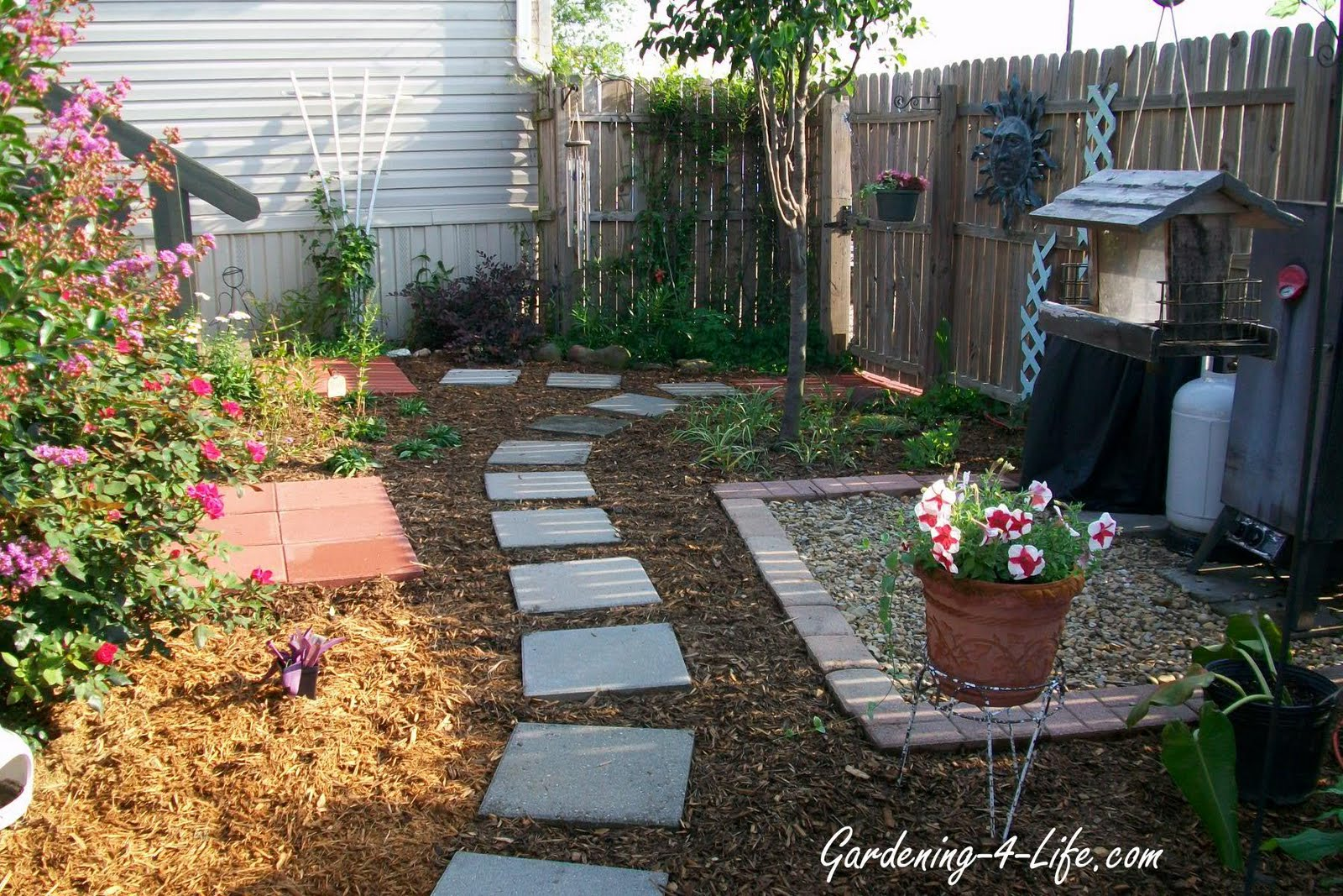 Cheap backyard makeovers large and beautiful photos for Garden makeover ideas