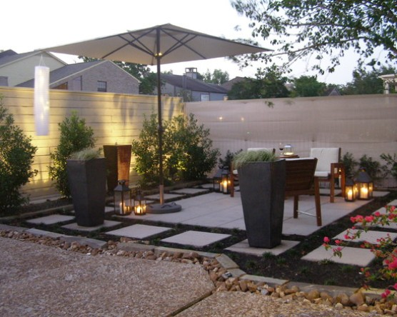 cheap backyard patio designs photo - 1