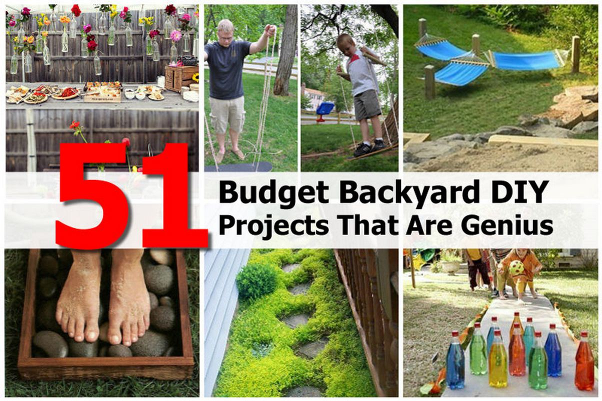 Cheap Backyard Projects