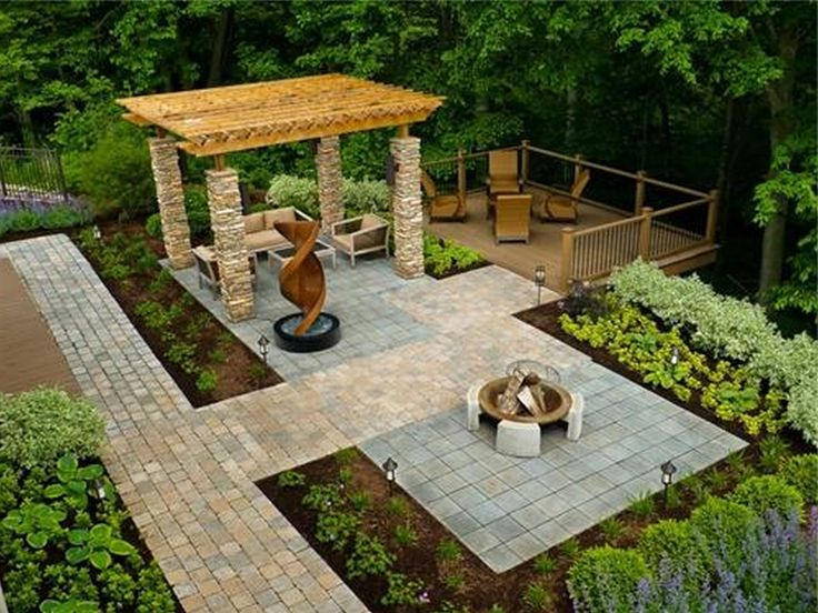 cheap landscaping ideas for backyard photo - 2