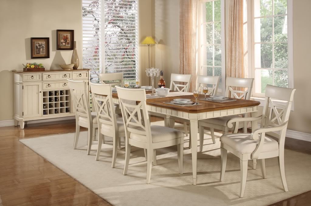 chic dining room sets photo - 2
