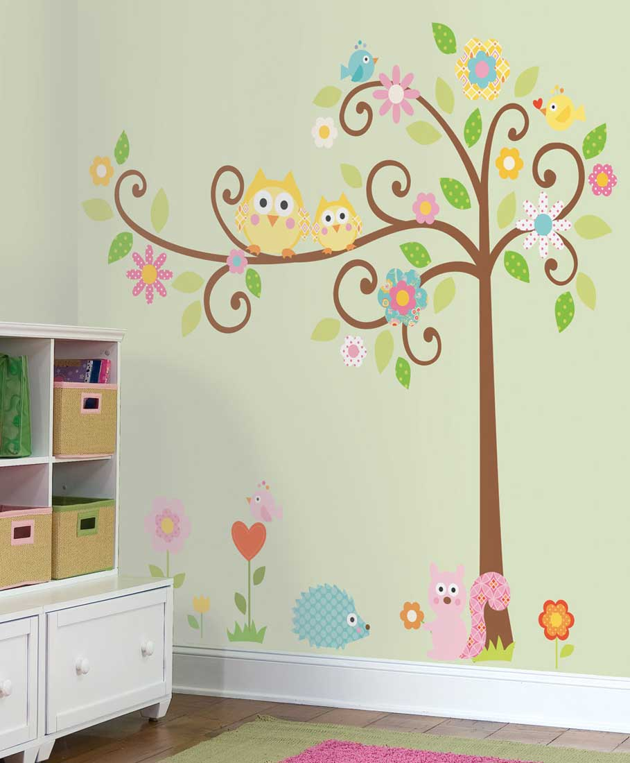 childrens bedroom wall decals photo - 2