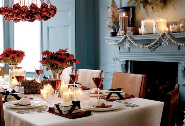Christmas Dining Room christmas dining room - large and beautiful photos. photo to