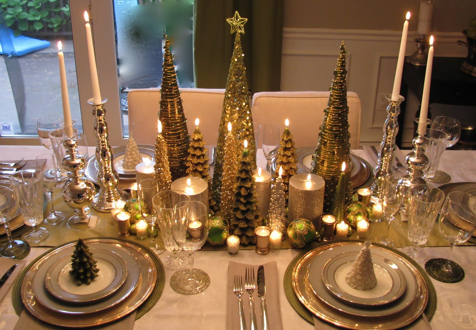 Christmas Dining Table Centerpiece ...