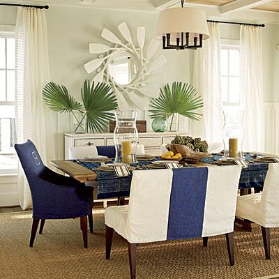 coastal dining room photo - 1