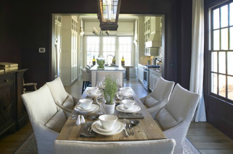 coastal dining room furniture photo - 1