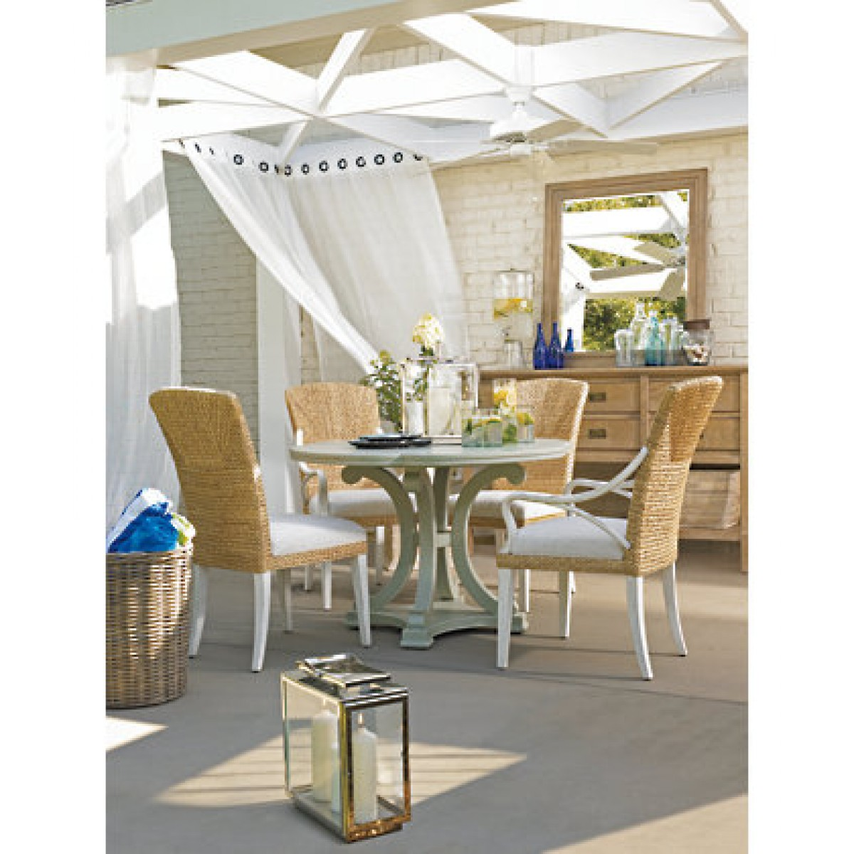 Coastal Dining Room Tables Large And Beautiful Photos
