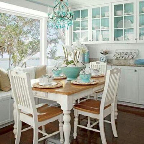 coastal living dining room furniture photo - 1