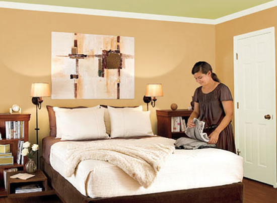 color for walls in bedroom photo - 1