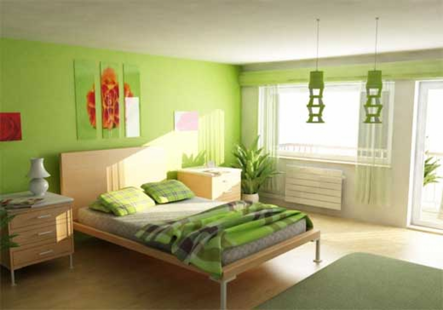 color paints for bedrooms photo - 1