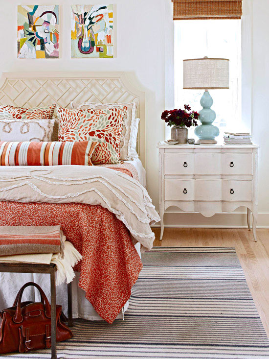 color patterns for bedrooms photo - 1