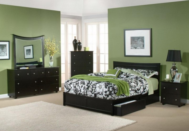 color scheme for bedroom photo - 1