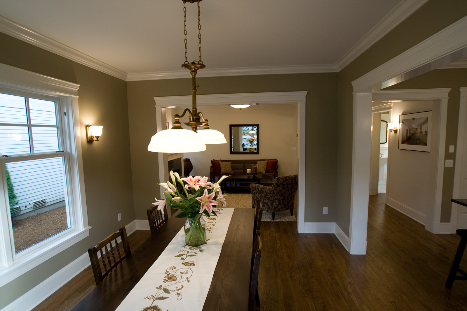 color schemes for dining rooms photo - 2
