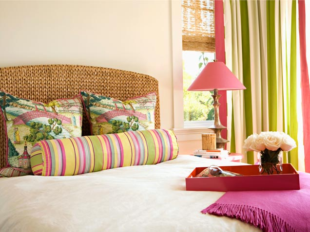 colorful bedroom photo - 1