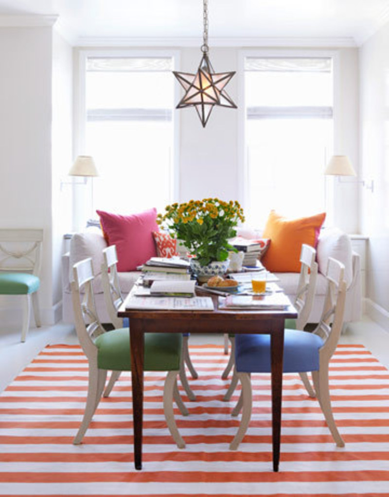 lovely Modern colour Dining Room images