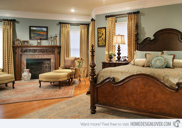 colorful master bedroom photo - 1