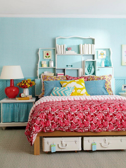 Etonnant Colorful Teenage Girl Bedroom Ideas Photo   1