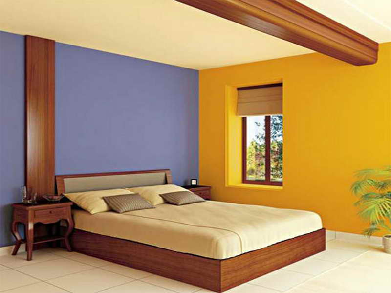 colors for a bedroom wall photo - 1