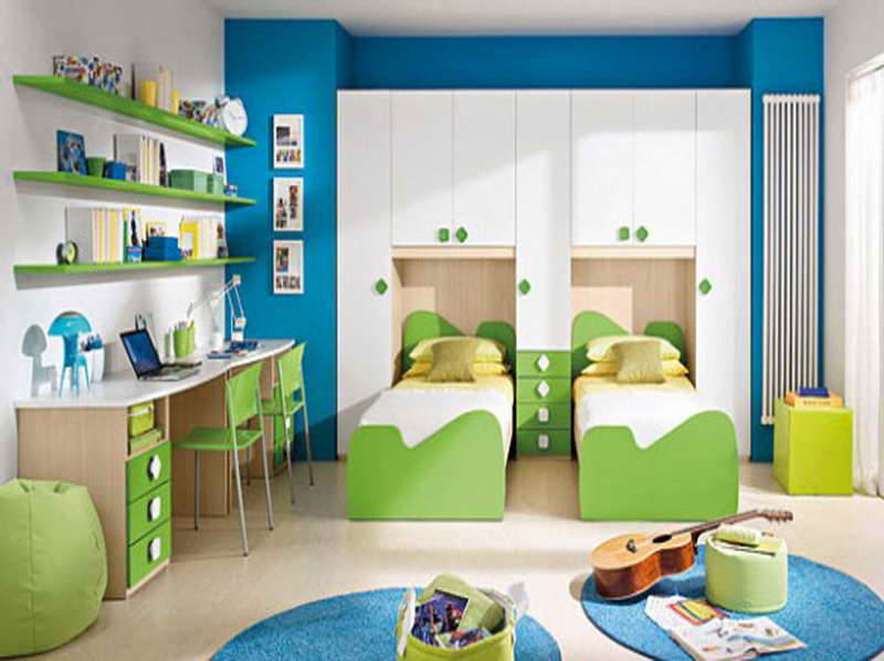 colors for boys bedroom photo - 1