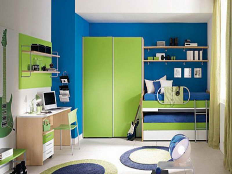 colors for boys bedroom photo - 2