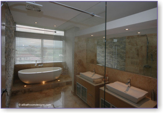 contemporary bathroom designs photo - 1