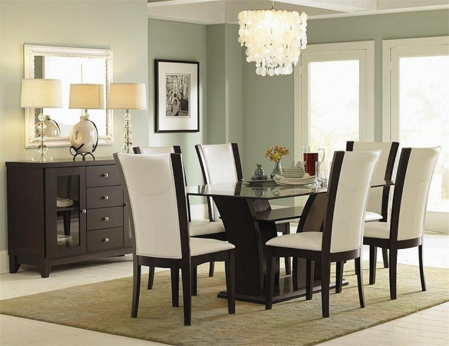contemporary dining room chandeliers photo - 2