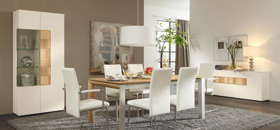 contemporary dining room decor photo - 1