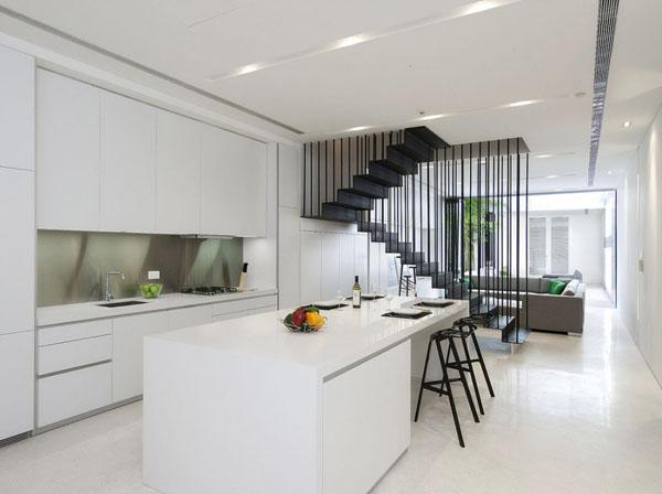 contemporary small kitchens photo - 2