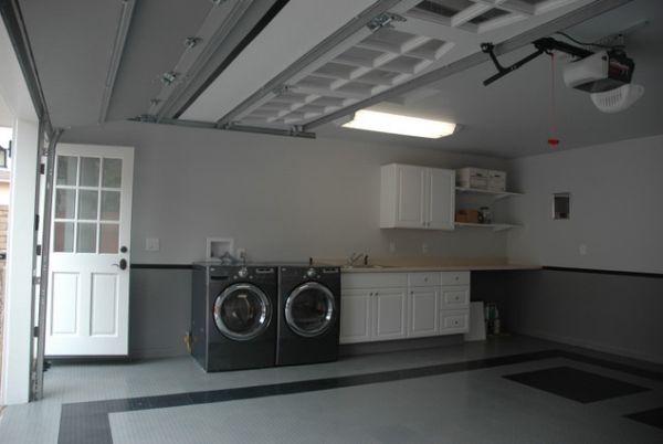 convert garage to living space photo - 2