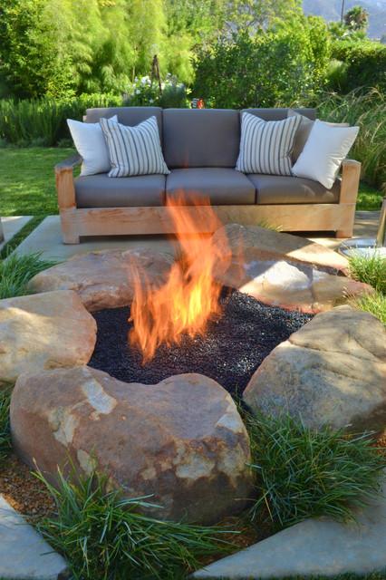 cool backyard fire pits photo - 2