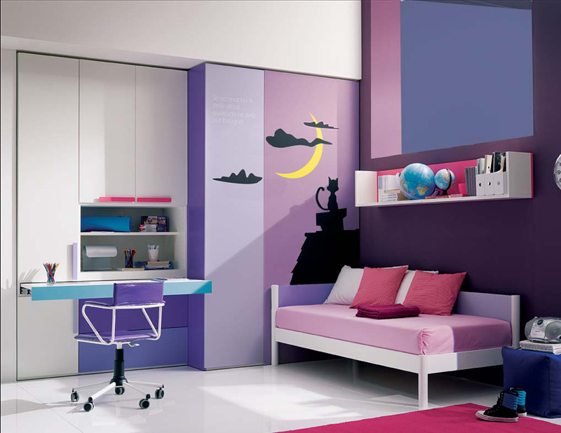 cool bedroom ideas for teen girls photo - 2