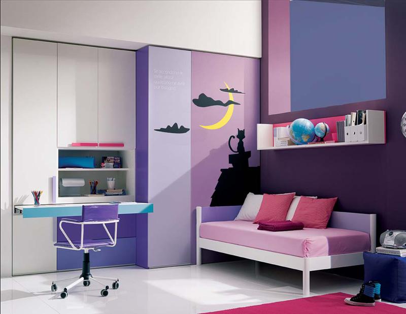 cool bedroom ideas for teenage girls photo - 2