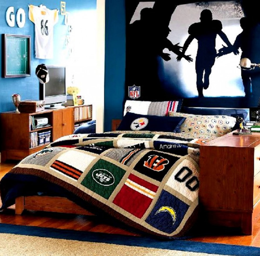 cool bedroom ideas for teenage guys photo - 2