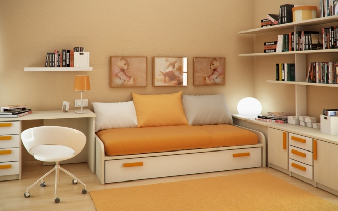 cool color schemes for bedrooms photo - 1