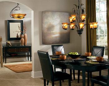 cool dining room lights photo - 1
