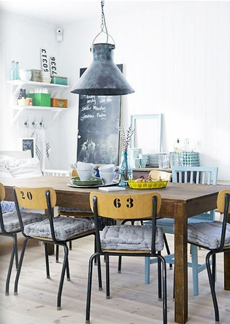 cool dining rooms photo - 2