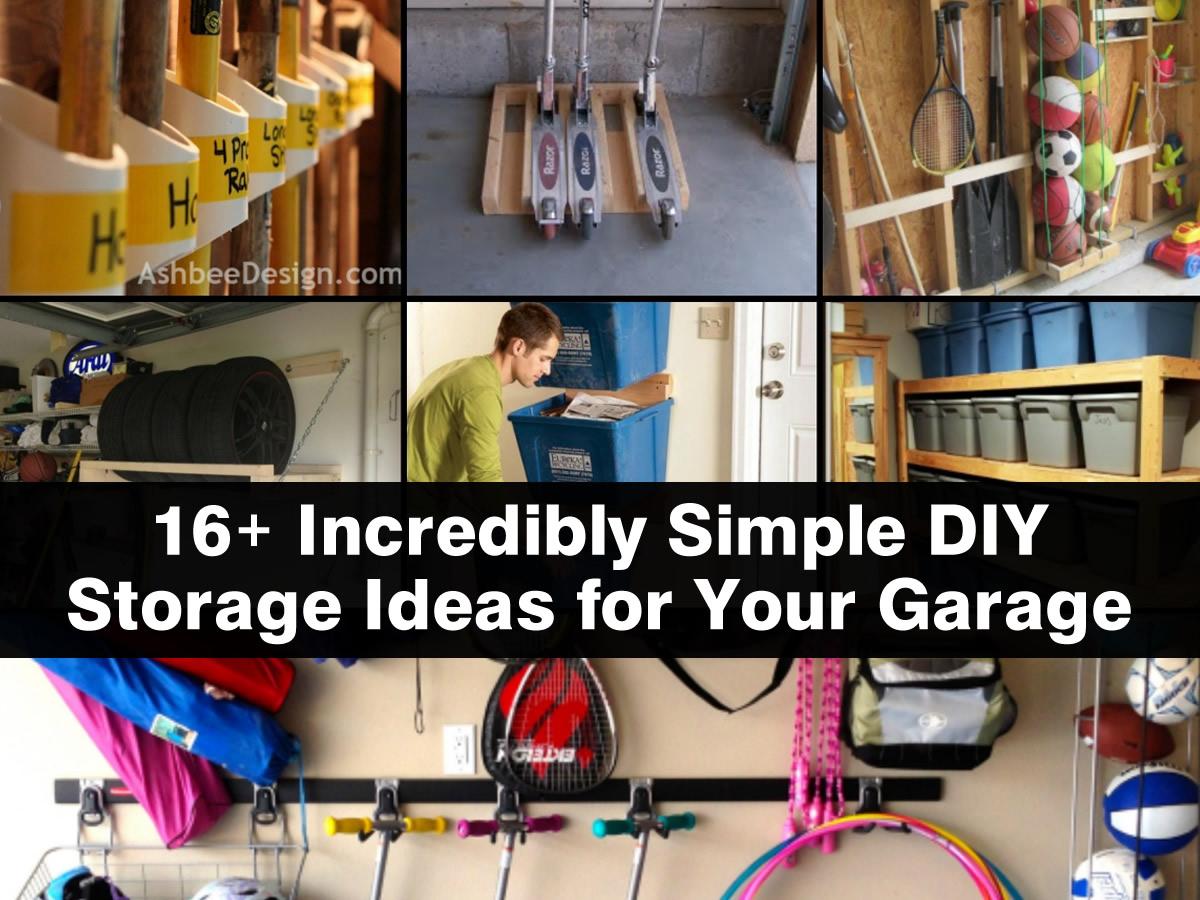 cool garage storage ideas photo - 1