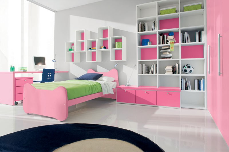 cool girls bedroom photo - 2