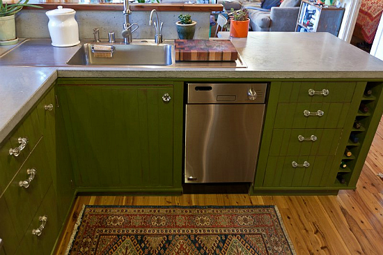 cool small kitchens photo - 2