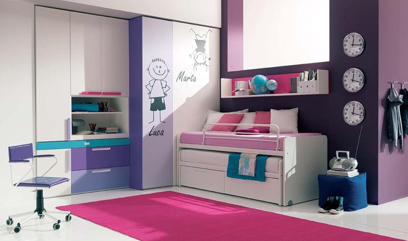 cool teenage bedroom designs photo - 1
