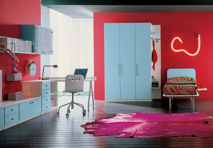 cool teenage bedroom designs photo - 2
