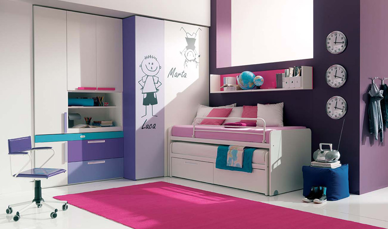 cool teenage bedroom ideas photo - 1