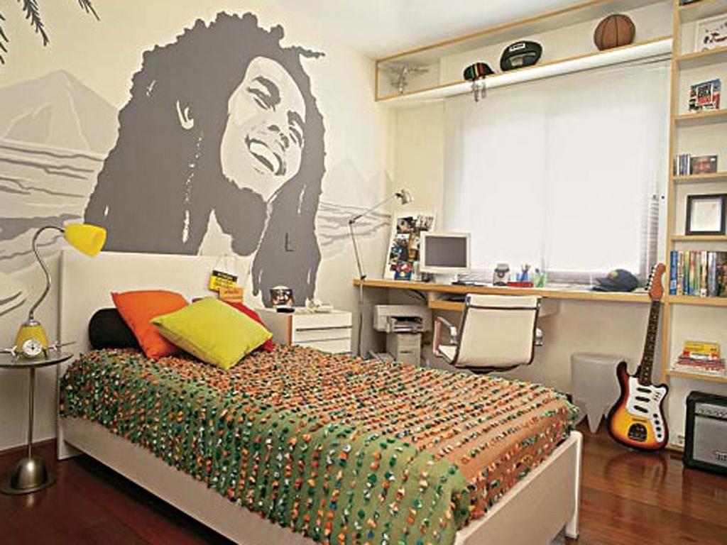 cool teenage bedroom ideas photo - 2