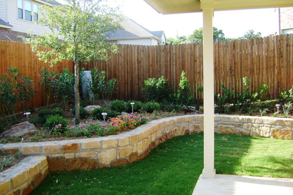 cost of backyard landscaping photo - 2
