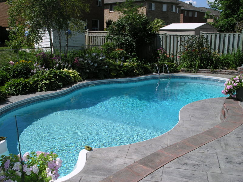 cost to landscape backyard photo - 1